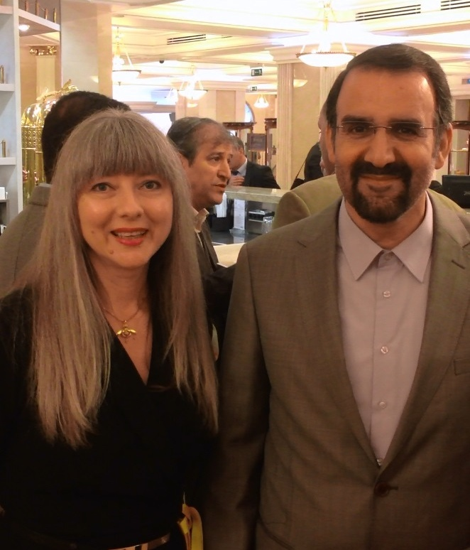 Встреча на Большом Ирано-Российском Бизнес Форуме